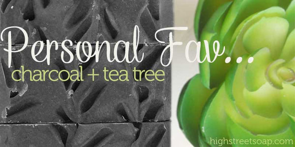 High Street Soap Charcoal and Tea Tree Soap Review