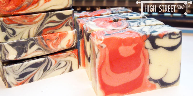 High Street Soap Rosewater and Cream Luxury Soap