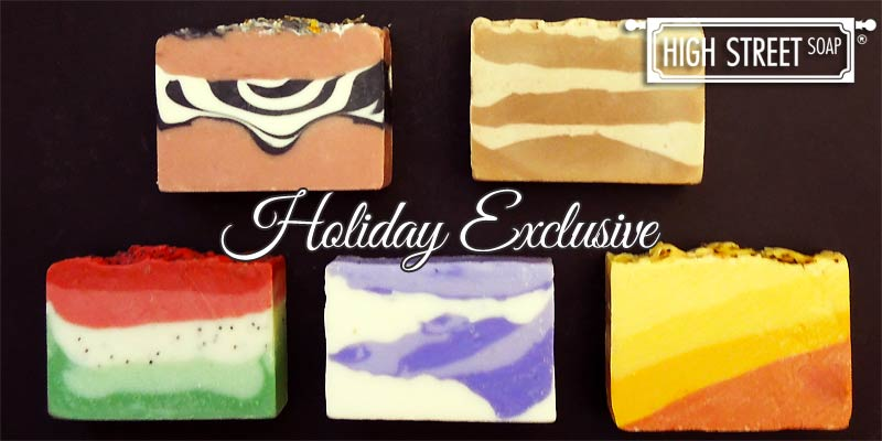 High Street Soap Holiday Soap Gift