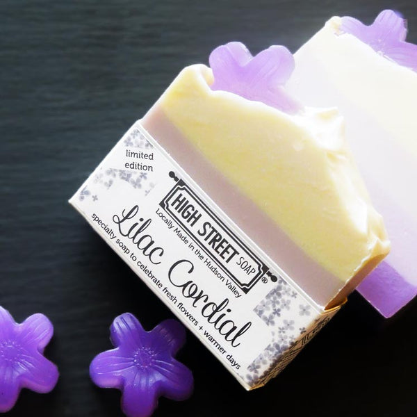 High Street Soap Lilac Soap Limited Edition Spring