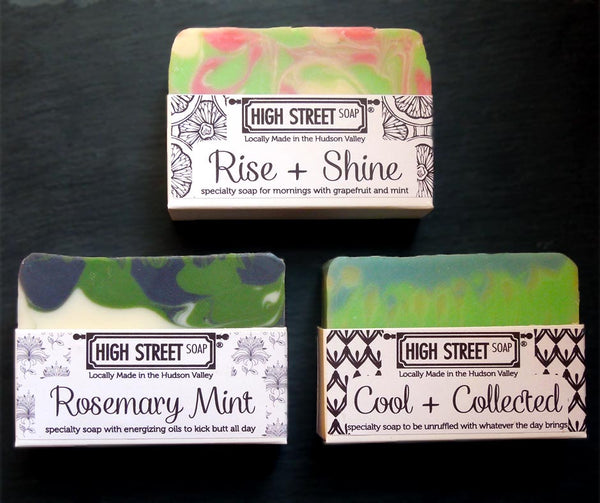 High Street Soap Specialty Soap Peppermint Essential Oil Soap