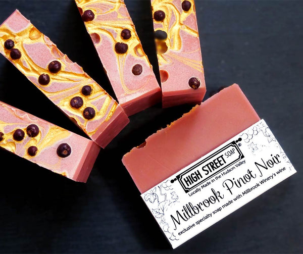 High Street Soap and Millbrook Vineyards and Winery Custom Soaps