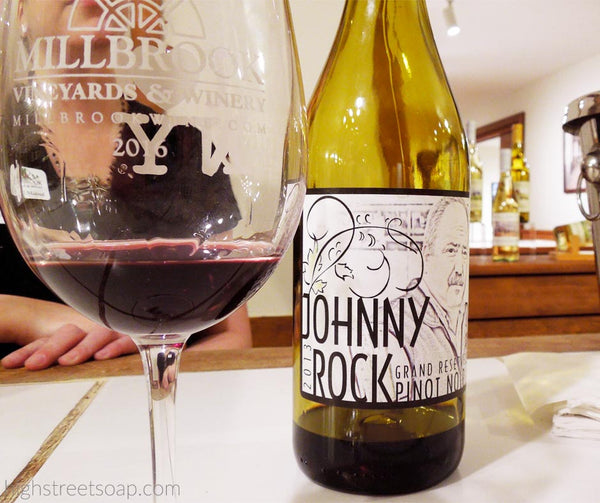 High Street Soap and Millbrook Vineyards and Winery Johnny Rock