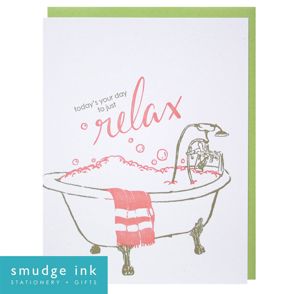 High Street Soap Mother's Day Gift Guide 2016 Smudge Ink Letterpress Card