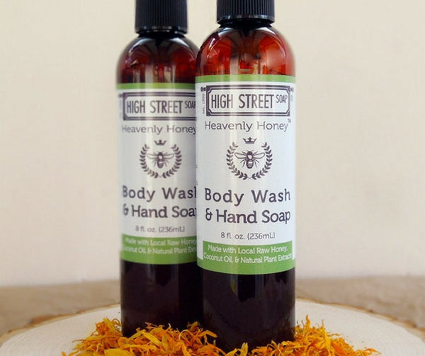 High Street Soap Heavenly Honey Body Wash