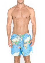 Load image into Gallery viewer, Signature Men's Trunks in world