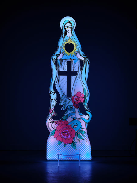 Tecnografica design LED lamp Madonna