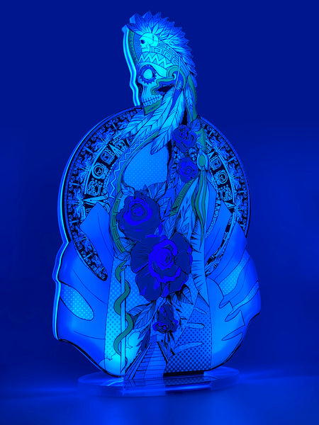 SANTA MUERTE Mini Led table lamp