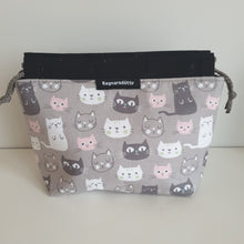 Load image into Gallery viewer, KITTENS - BLACK & GREY - Reversible bag
