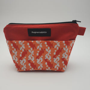 RED FOXES - Notions Pouch