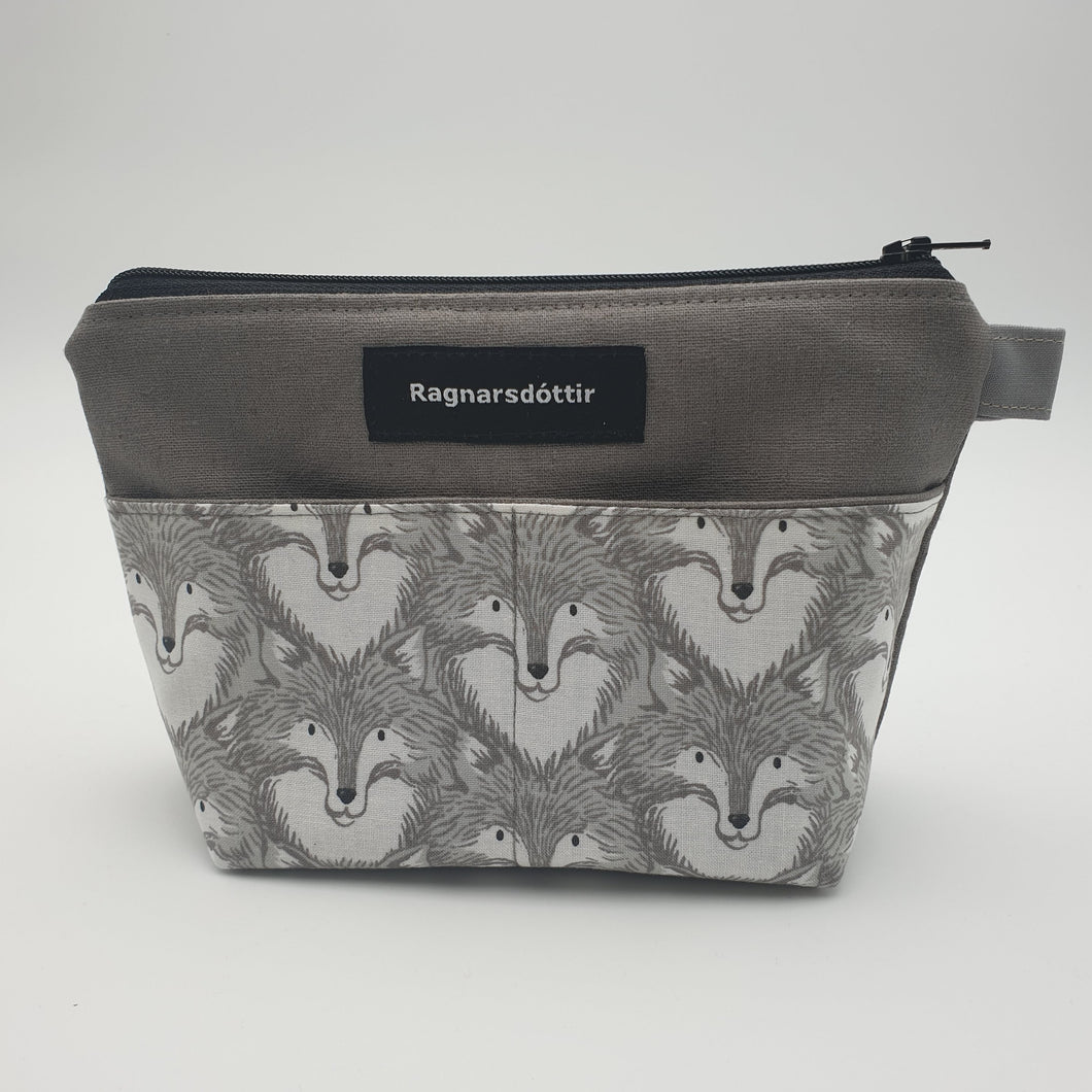 WARM-GREY FOXES - Notions Pouch