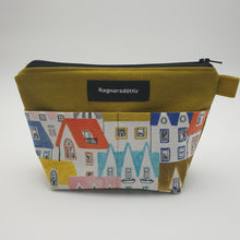 Load image into Gallery viewer, OLIVE-GREEN TOWN - Notions Pouch