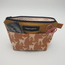 Load image into Gallery viewer, GOLDEN-BROWN BAMBI - Notions Pouch