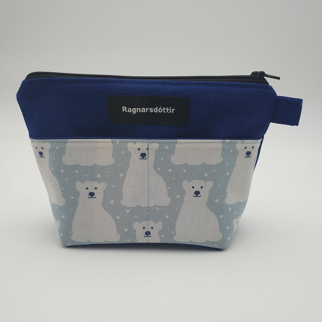 BLUE POLAR BEARS - Notions Pouch