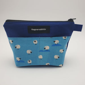 BLUE SHEEPS - Notions Pouch