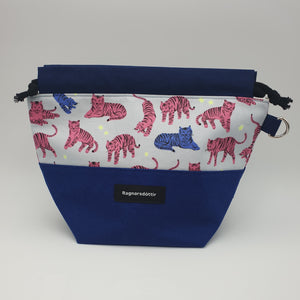 BLUE CATS - SMALL Project Bag