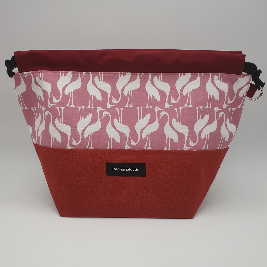 COUNTRY RED STORKS - LARGE Project Bag