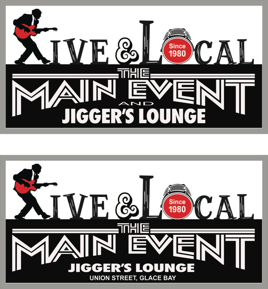Main Event & Jigger's Lounge (B1A2P6) - Gift Card