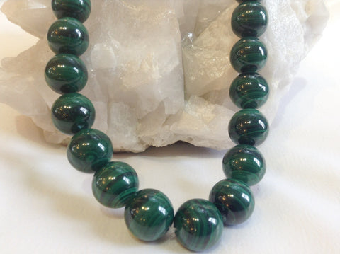 14mm Malachite Ronds