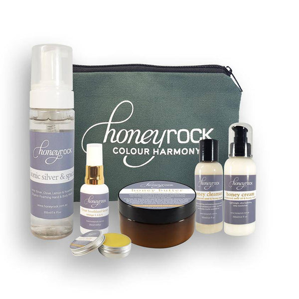 Deluxe Skincare Kit - Luxurious Goodness For Your Face & Body. - Honeyrock