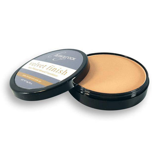 Velvet Finish - Pressed Mineral Foundation - Honeyrock