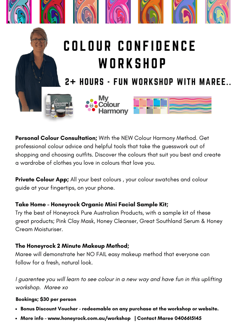 Colour Confidence Workshop - Honeyrock