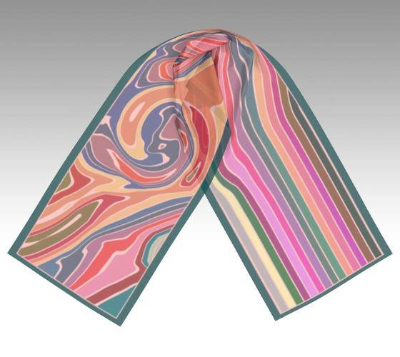 Colour Harmony Scarf -SOFT - Honeyrock