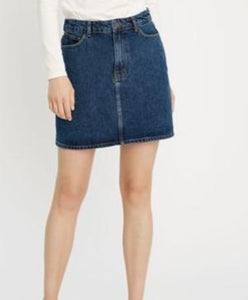 Mini-Jupe en Denim bleu