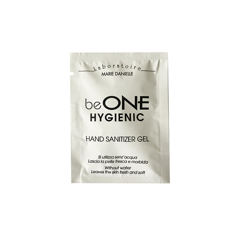beONE HYGIENIC SANITIZING HAND GEL 3 ML conf. 20 pcs.