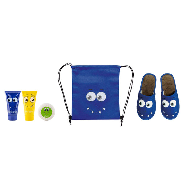 TRAVEL KIT LINEA BIMBI MONSTER