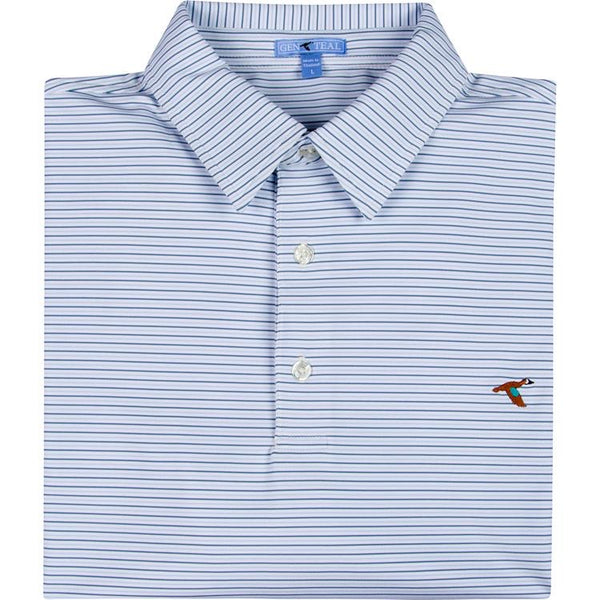 Genteal Men's Trellis Performance Polo
