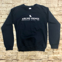 Airline Mini Map Gildan Sweatshirt