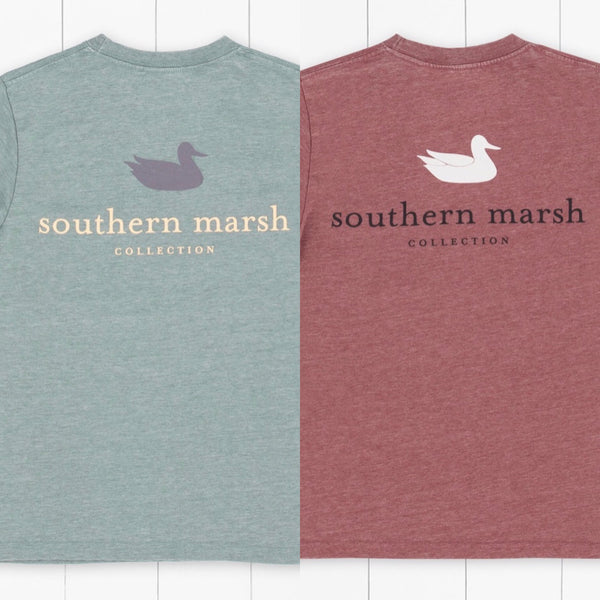 Southern Marsh Youth Seawash Long Sleeve - Authentic