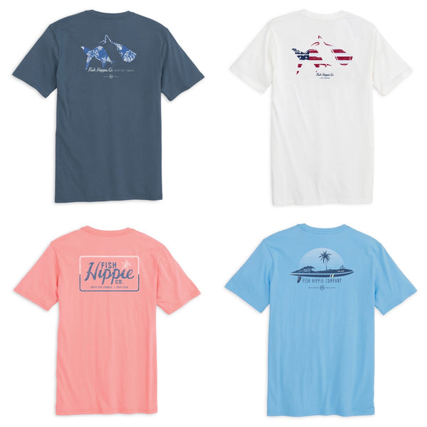 Fish Hippie Youth Assorted Tees