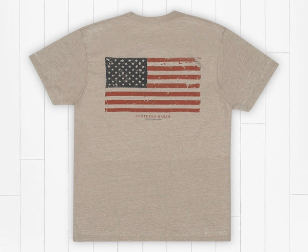 Southern Marsh Seawash Short Sleeve - Vintage Flag