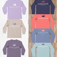 Southern Marsh Youth Long Sleeve - Authentic Heather