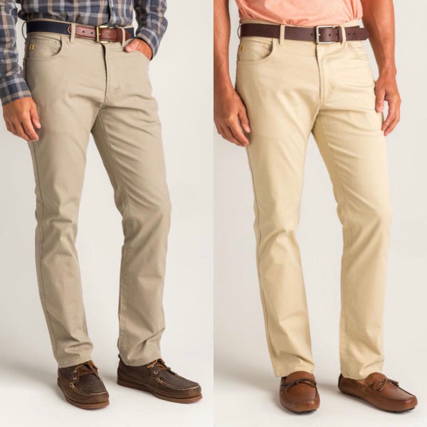 Duck Head Men's 5-Pocket Pinpoint Canvas Pant