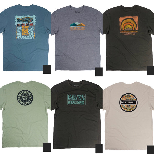 Fayettechill Assorted Short Sleeves