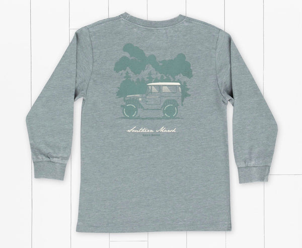 Southern Marsh Youth Seawash Long Sleeve - Offroad