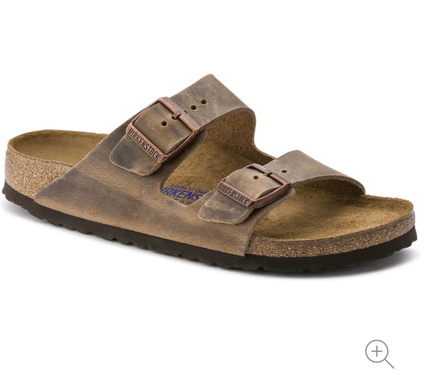 Birkenstock Unisex Arizona - Tobacco Brown