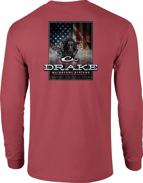 Drake Long Sleeve - Charging Patriot