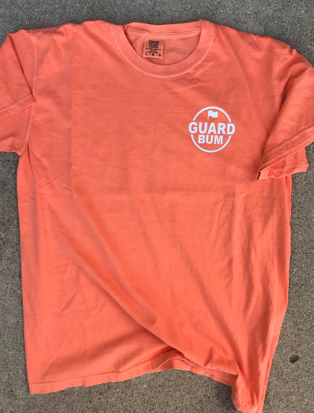 Guard Bum Logo T-shirt in 3 colors