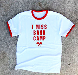 I Miss Band Camp Short Sleeve