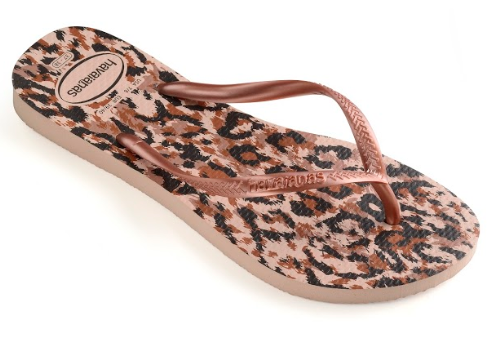 Havaianas Womens Slim Animals Flip Flops