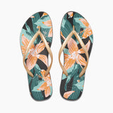 Womens Reef Escape Basic Prints Flip Flops
