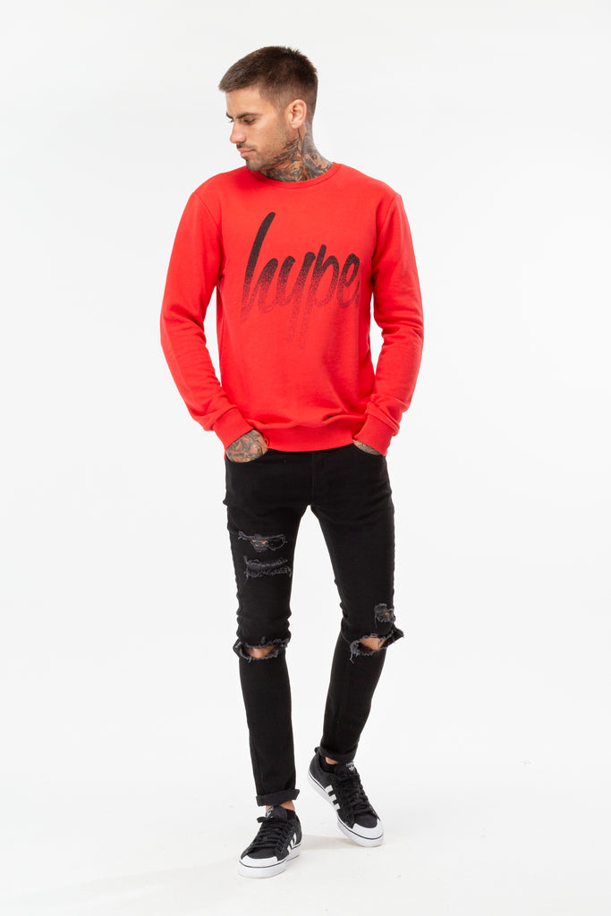 Hype Speckle Script Sweat