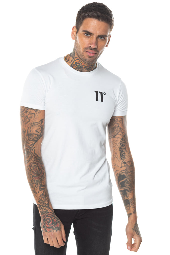 11 Degrees Core Muscle Fit T-Shirt