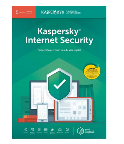Kaspersky Antivirus 5 dispositivos 2018 5+1L KL1941ZBFFS)