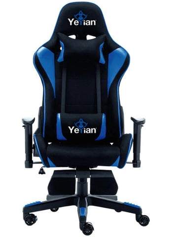 Silla Gaming Yeyian Reclinable 4D Brave Azul YAR-900A)