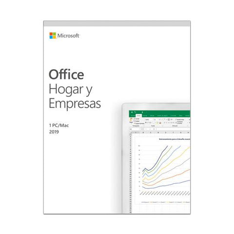 Office Home And Business 2019 Idioma Español Lice. Perpeua T5D-03260)